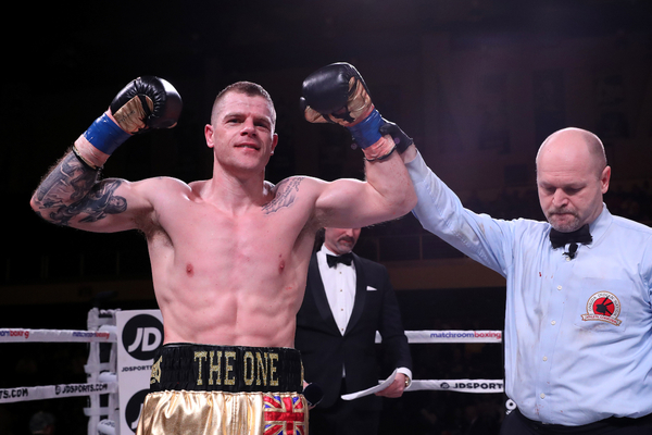 Callum Johnson rejoins Frank Warren