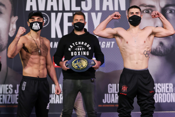 David Avanesyan vs Josh Kelly weights, TV channel, running order & undercard