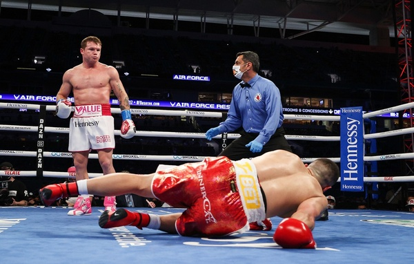 Canelo vs Billy Joe Saunders to take place before 60,000 fans