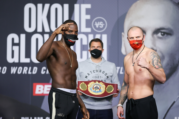Lawrence Okolie vs Krzysztof Glowacki weights, TV channel, running order & undercard