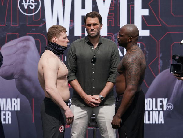 Alexander Povetkin vs Dillian Whyte 2 weights, TV channel, running order & undercard