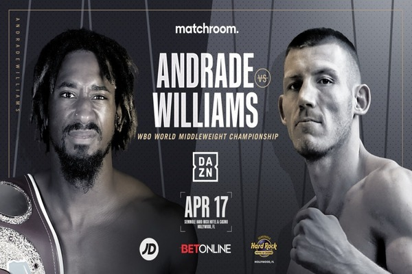 Preview: Demetrius Andrade fights Liam Williams this Saturday night