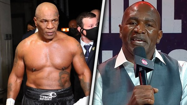 'I couldn't FIGHT MIKE TYSON so I'm fighting the guy who beat him' - Holyfield