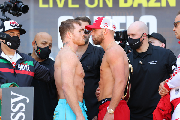 Canelo vs Billy Joe Saunders weights, TV channel, running order & undercard