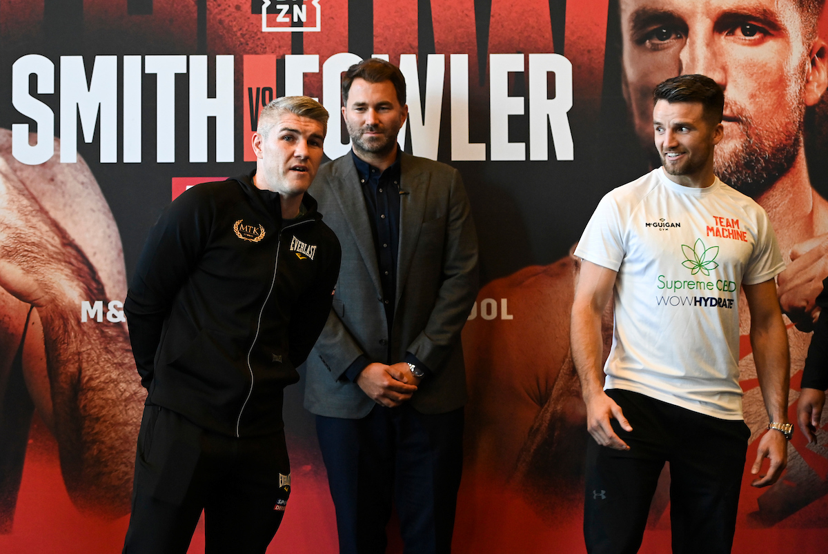 Liam Smith vs Anthony Fowler on October 9 will come under the new price point (Mark Robinson/Matchroom)